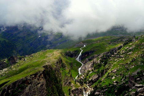 The view before Rohtang! Photo courtesy: Bijesh