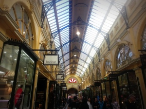 Built in 1891 the arcade is based on Milan's Galleria Vittorio Emanuele II plaza.