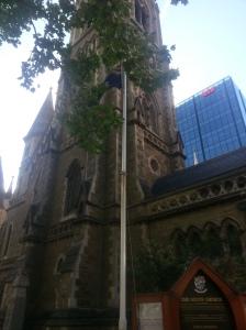 Gothic Scot's Church, first Presbyterian church in Victoria
